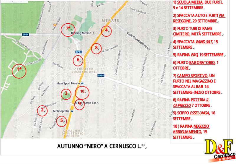 La stazione prevalente diventerebbe Osnago e rimarrebbe Cernusco-Merate  Le  sedi dei municipi vanno accorpate 404d2bf5a4a
